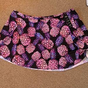 Plus Size Torrid Tie Swim Skirt